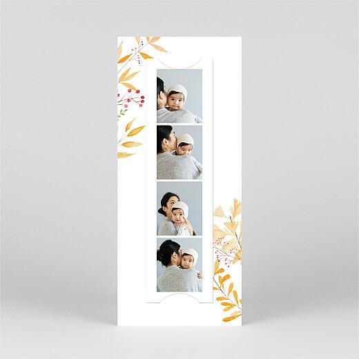 Baby Announcements Four seasons (bookmark) autumn - View 3