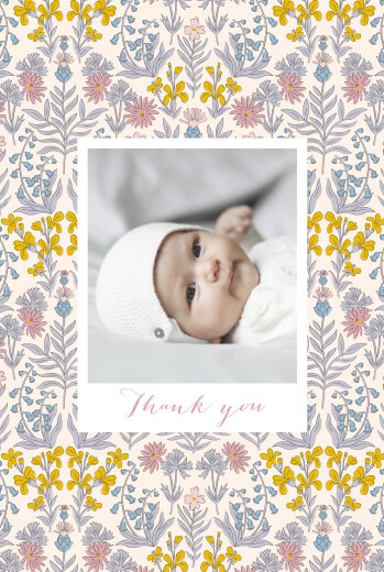 Baby Thank You Cards Prosper pink