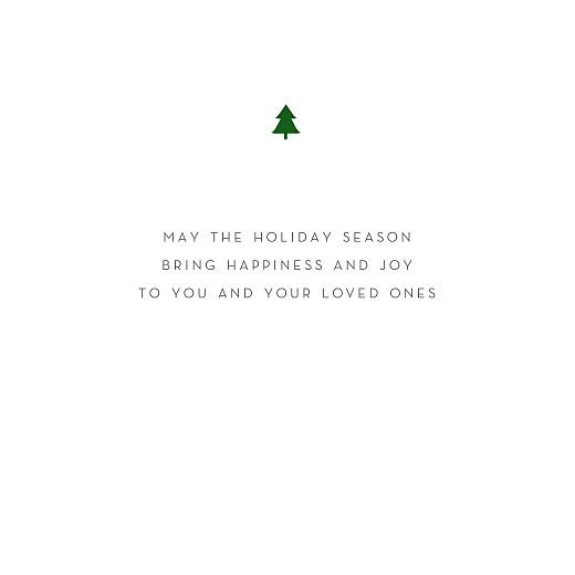 betway必威开户网站圣诞贺卡优雅的小树苗白色-第3页