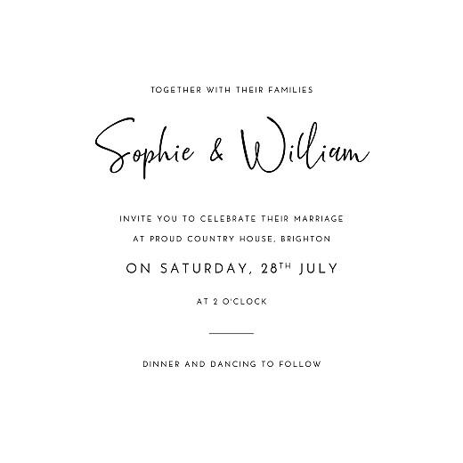 婚礼邀请有史以来,曾经是我的白色 - 第3页
