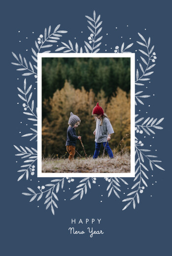 Christmas Cards Jubilation blue