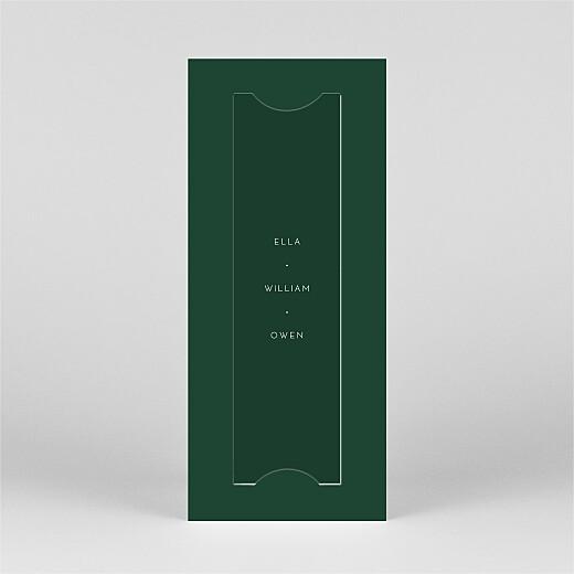 Christmas Cards Elegant sapling (bookmark) green - View 3