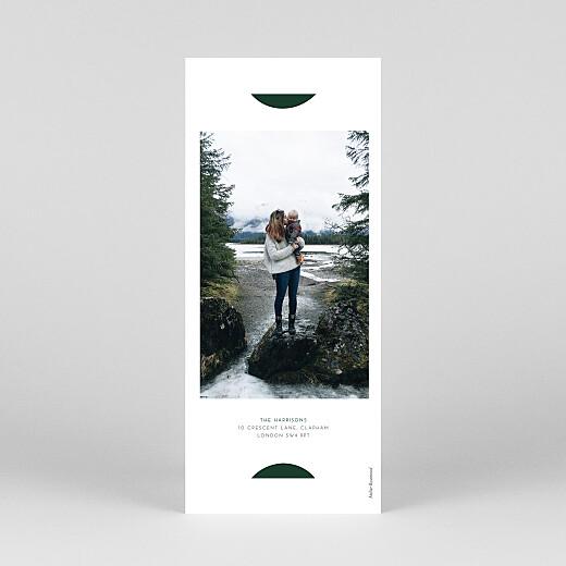 Christmas Cards Elegant sapling (bookmark) green - View 4