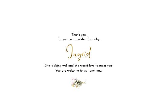 宝贝感谢卡绿色家庭风景白色页3