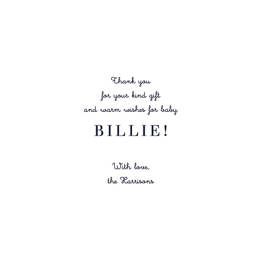 Baby Thank You Cards From us to you (4 pages) white - Page 3