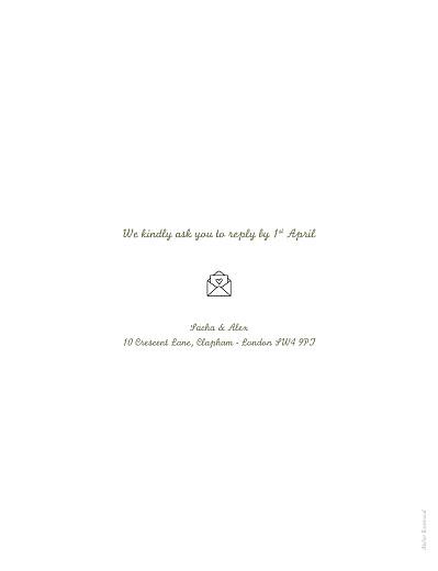 婚礼邀请您的一天,您的方式White  - 第2页