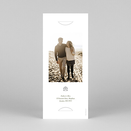 Wedding Invitations Your day, your way (bookmark) green - View 4