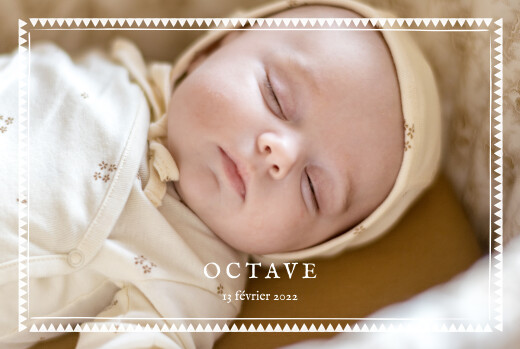 Baby Announcements My darling landscape white