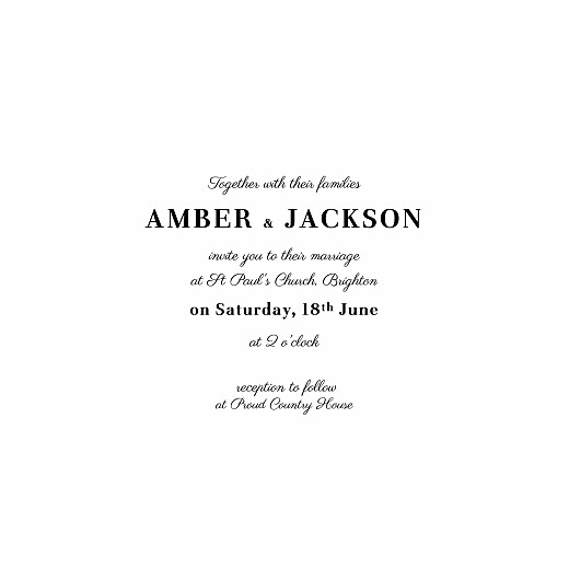 Wedding Invitations Cascading canopy green - Page 3