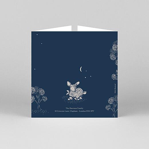 婴儿感谢卡片睡前故事(折叠)蓝色-视图3