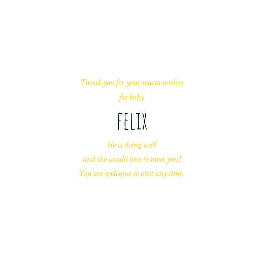 宝贝,感谢卡片,金色的果园-第三页