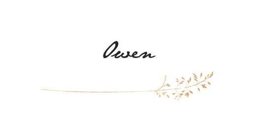 Wedding Place Cards Country meadow sand
