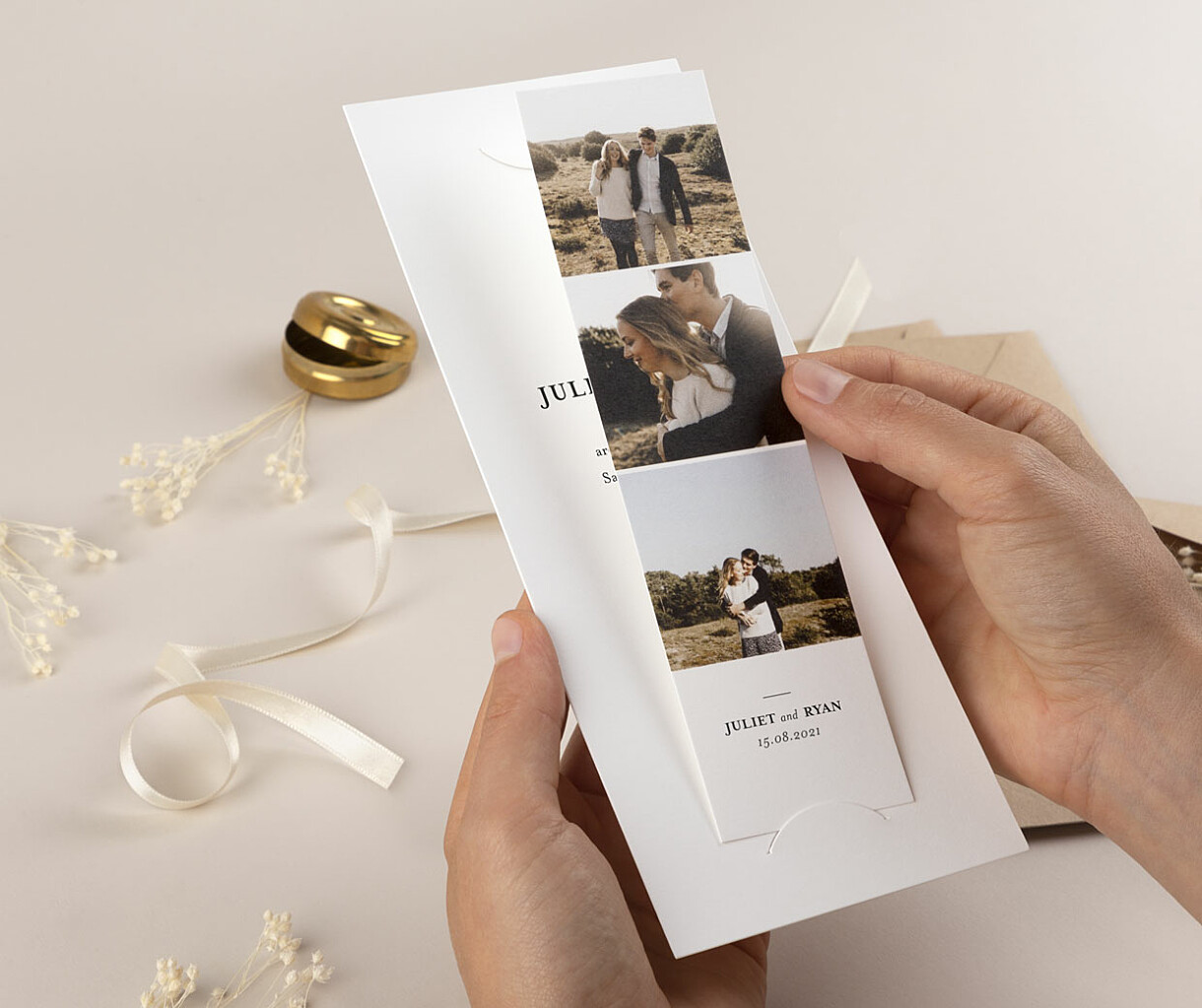 Ever after save the date cards
